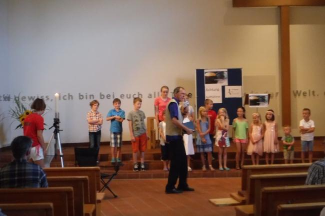 Gottesdienst zum Abschluss der Kinderwoche 2016