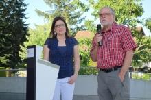 Thomas Ott und Angela Gander