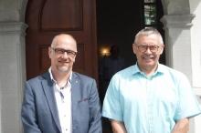 Urs Schnellmann und Norbert Boguhn
