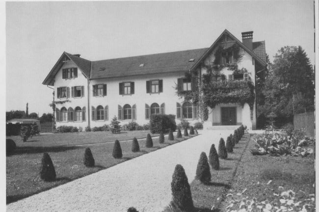 Erstes Pfarrhaus Uznach Bahnhofstrasse