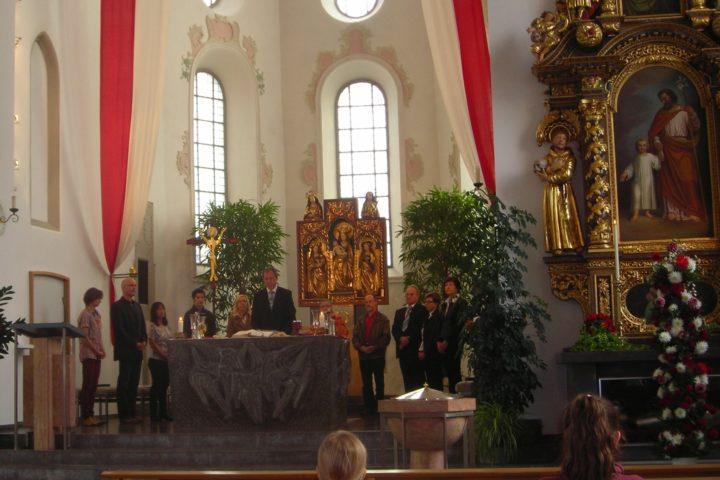 ökumenischer Gottesdienst Bettag 2014 in Eschenbach